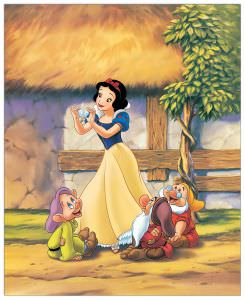Quadro Decorativo Snow White