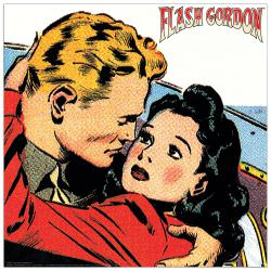 Quadro Decorativo Flash Gordon E Dale I