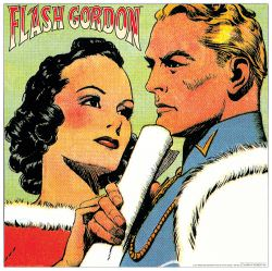 Quadro Decorativo Flash Gordon E Dale Ii