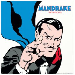 Quadro Decorativo Mandrake The Magician I