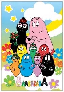 Quadro Decorativo Barbapapa