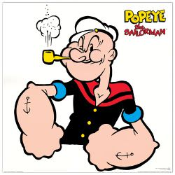 Quadro Decorativo Popeye The Sailorman Ii
