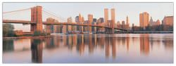 Quadro Decorativo Brooklyn Bridge And Manhattan Sunrise