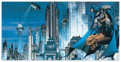 Quadro Decorativo Gotham City Skyline