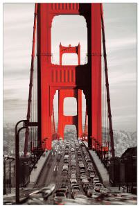 Quadro Decorativo Golden Gate Bridge San Francisco