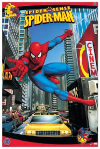 Quadro Decorativo Spiderman Nyc