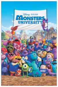 Quadro Decorativo Monsters University