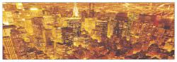 Quadro Decorativo New York Golden