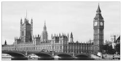 Quadro Decorativo Houses Of Parlament E Big Ben In London