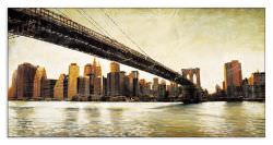Quadro Decorativo Brooklyn Bridge View