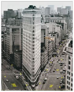 Quadro Decorativo Flat Iron Building
