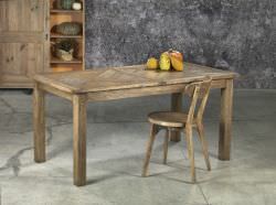 Guarnieri Extending table in old elm wood is a product on offer at the best price