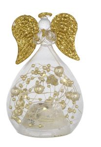 30270fd2004 Angelo panciuto vidrio soplado dorado decoraciones y luces h.