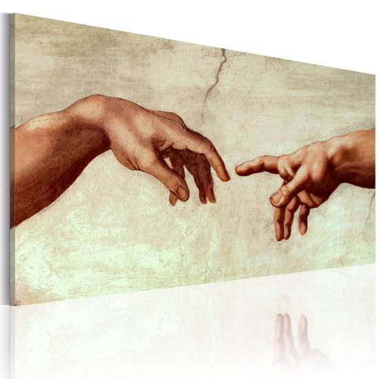Handmade painting The creation of Ada