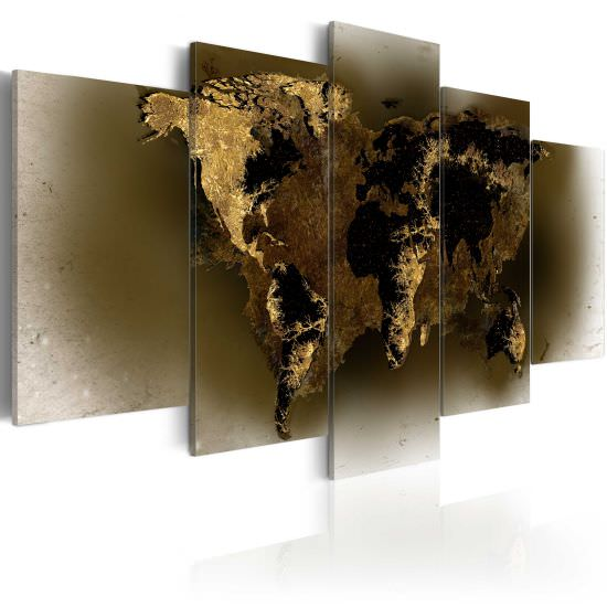 Tableau Brass continents
