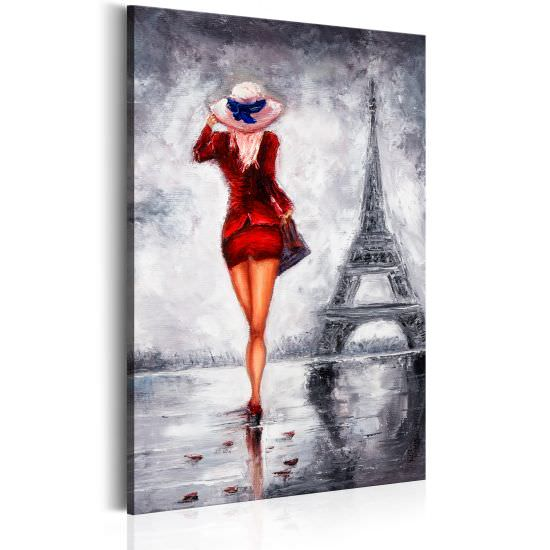 Quadro Lady in Paris