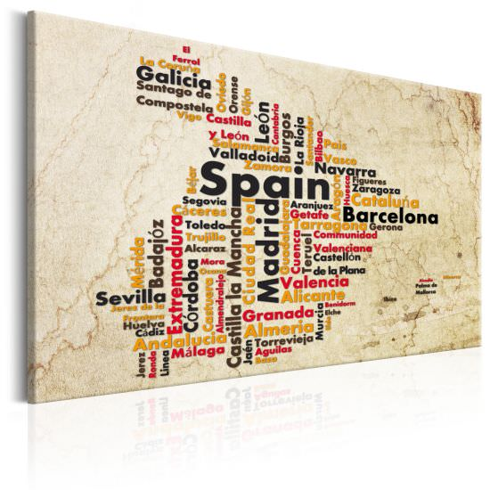 Cuadro Spanish Cities ES