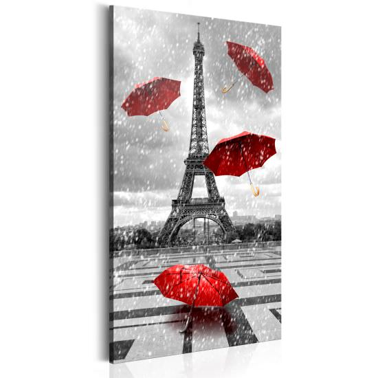 Quadro Paris Red Umbrellas