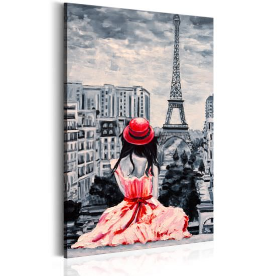 Quadro Romantic Paris