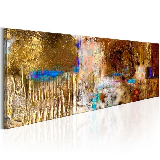 Handmade painting Golden Structure