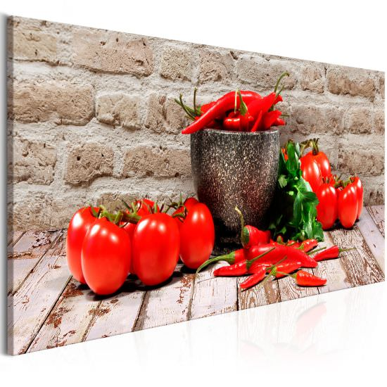 Tableau Red Vegetables 1 Part Brick