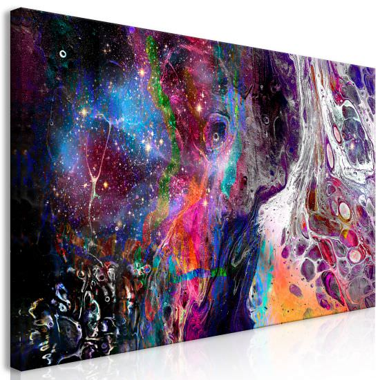 Cuadro Colourful Galaxy 1 Part Wide