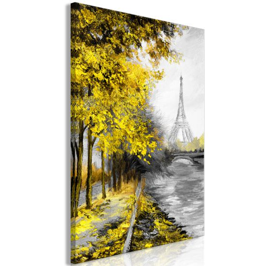 Quadro Paris Channel 1 Part Vertical Yel