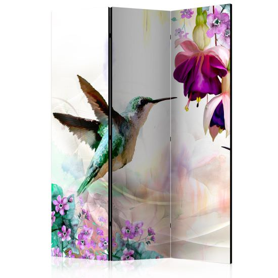 Paravento Hummingbirds and Flowers Room