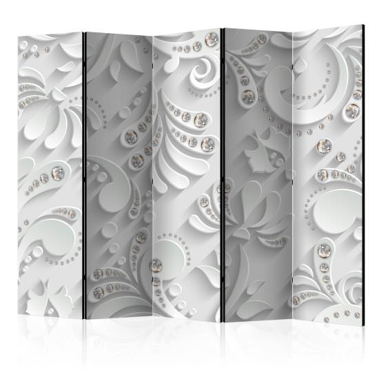 Room Divider Flowers in Crystals II [