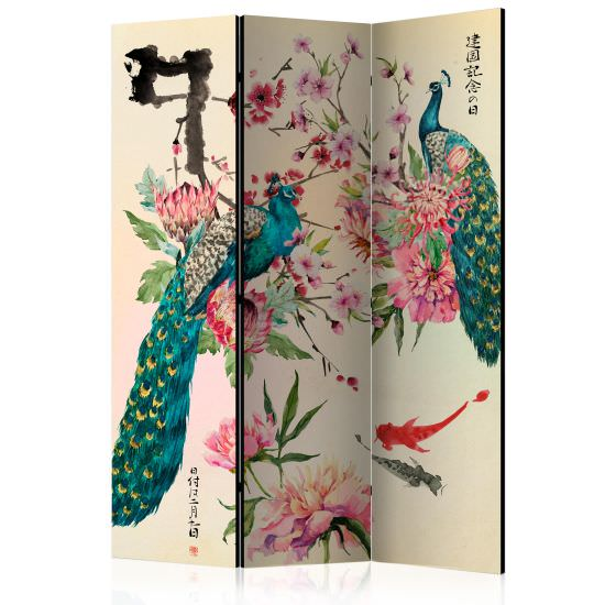 Paravento Peacock Love Room Dividers