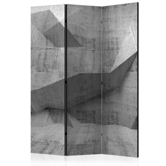 Room Divider Concrete Geometry [Room