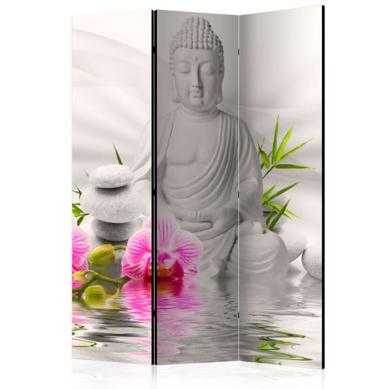 Biombo Buddha and Orchids Room Divid