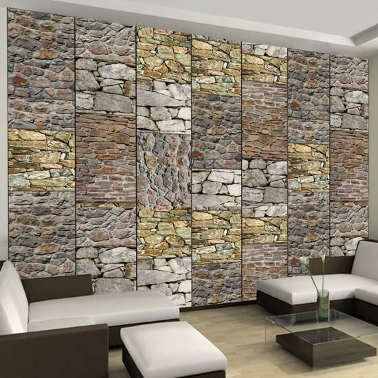 Wallpaper Puzzle with stones