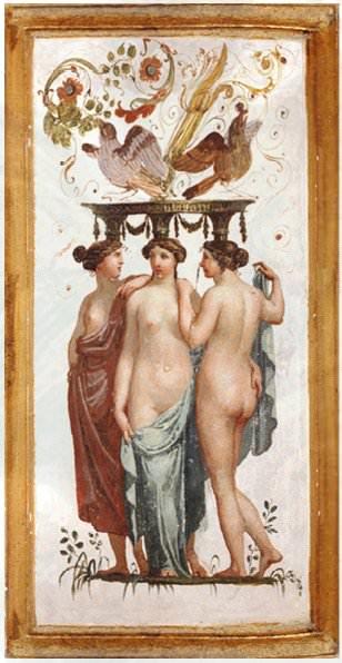 klassische Fresko