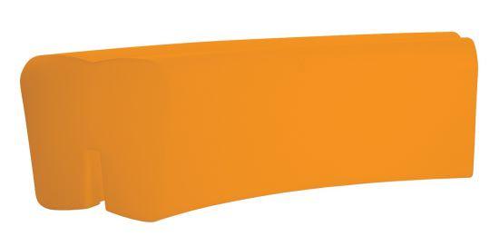 Panca da Giardino in resina Arancio