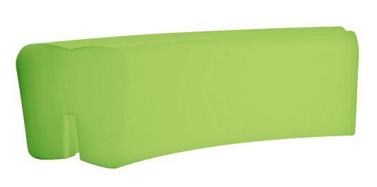 Panchina per esterni in resina Verde