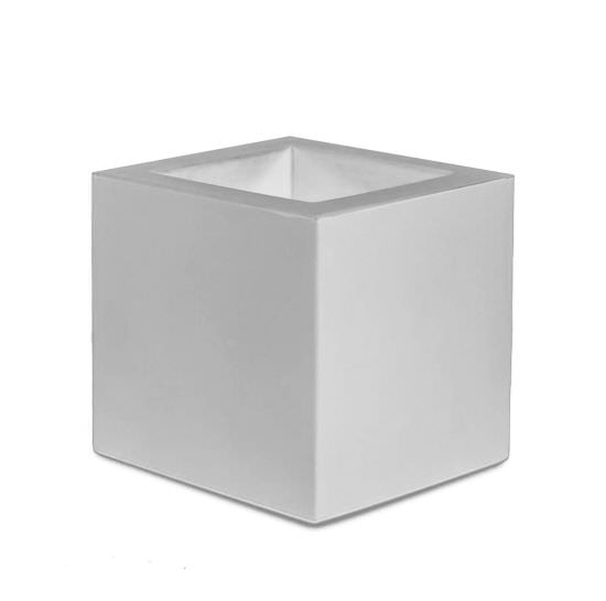 Quadratische Vase für den Innen und Auße