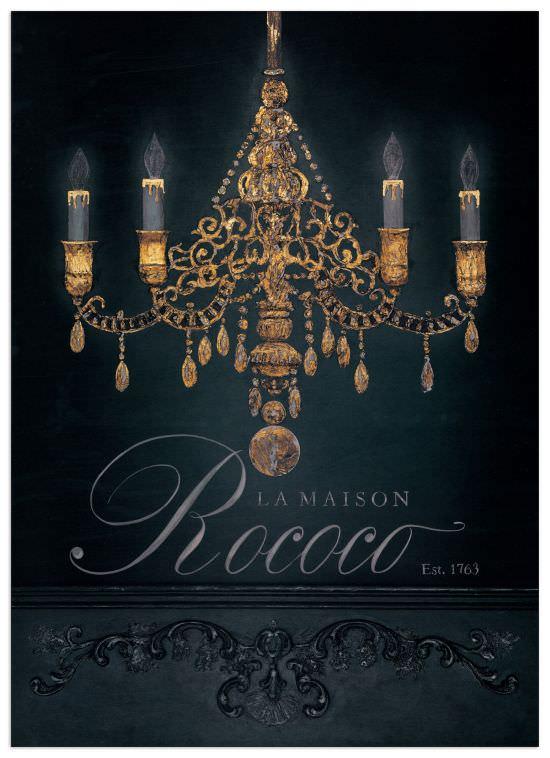 Quadro Decorativo La Maison Rococo