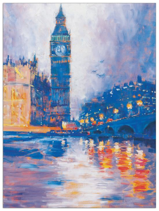 Quadro Decorativo Big Ben London