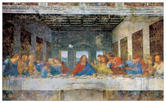 Quadro Decorativo The Last Supper Yesterday