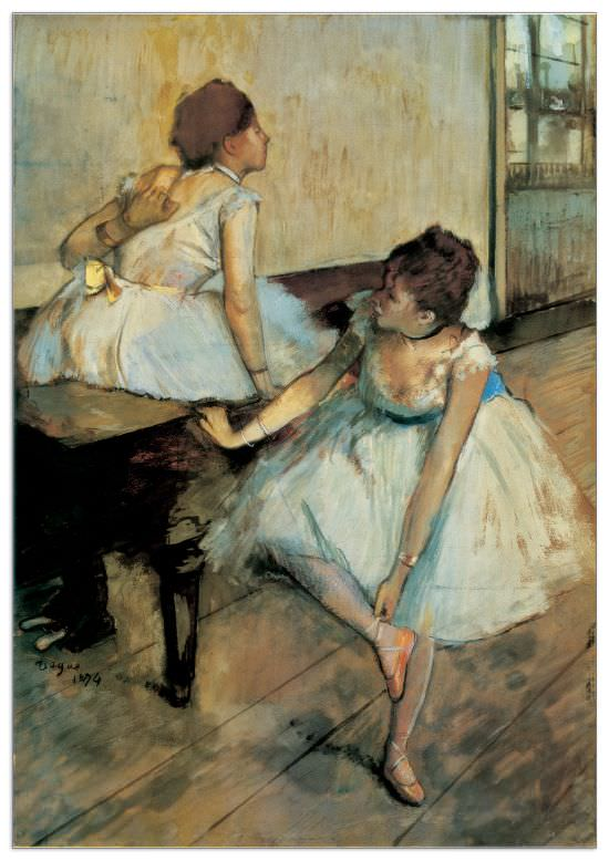 Quadro Decorativo Before The Ballet