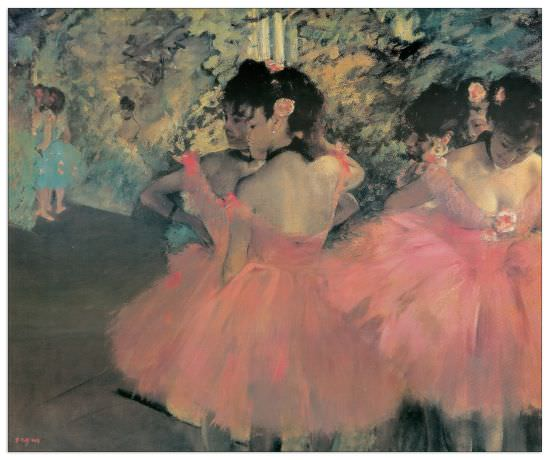 Quadro Decorativo Pink Dancers