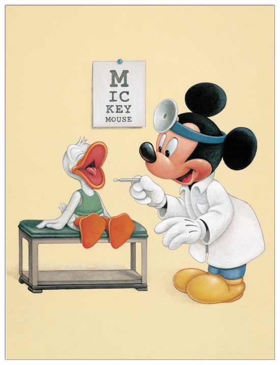 Quadro Decorativo Say Ahh For Mickey