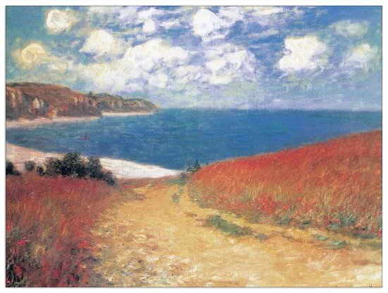 Quadro Decorativo Meadow Road To Pourville