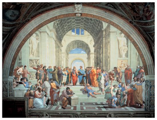 Quadro Decorativo The School Of Athens