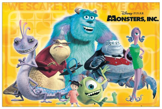 Quadro Decorativo Monster Inc