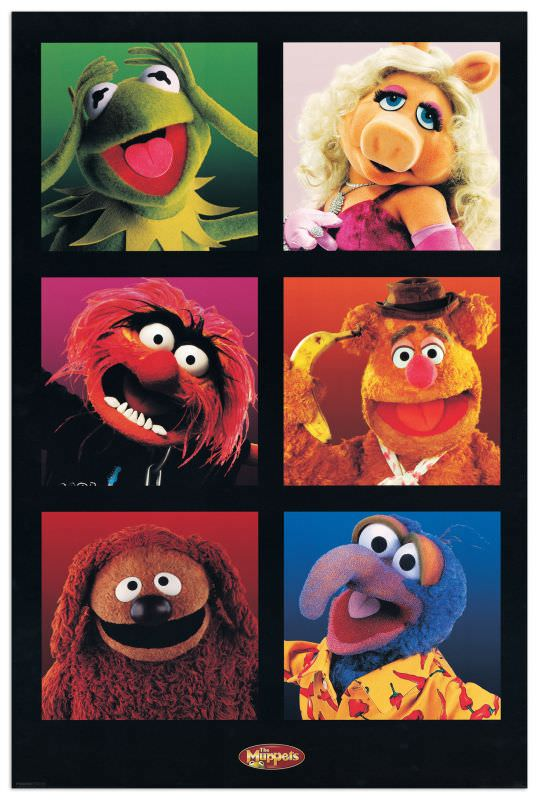 Quadro Decorativo The Muppets