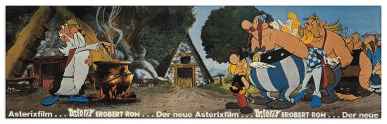 Quadro Decorativo Asterix Film