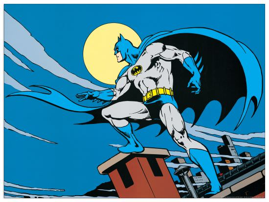 Quadro Decorativo Gotham City