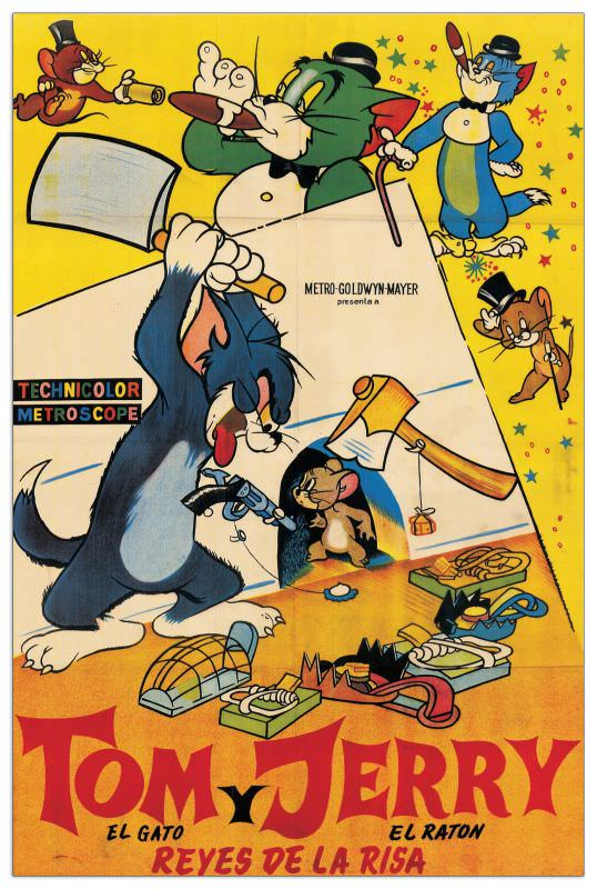 Quadro Decorativo Tom And Jerry